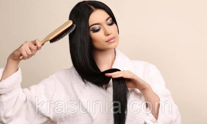 Правила расчесывания волос