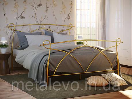 Металлическая кровать с изножьем ФЛОРЕНЦИЯ -2 ТМ Метакам, фото 2