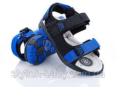 Детская летняя обувь 2019. Детские босоножки бренда Ok Shoes для мальчиков (рр. с 26 по 31)