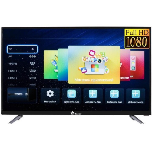 """Телевизор Domotec 32"""" Full HD, LED, Smаrt TV, динамики 12 Вт"""