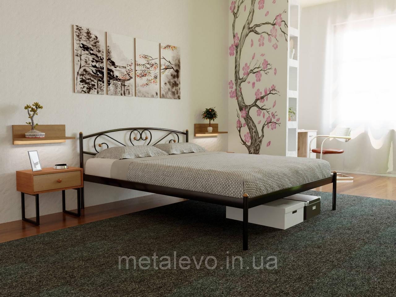 Металлическая кровать МИЛАНА-1