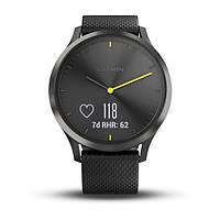 Умные часы Smart Watch Garmin Vivomove HR Black водонепроницаемые, пульсометр, шагомер, контроль сна, фото 4