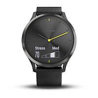 Умные часы Smart Watch Garmin Vivomove HR Black водонепроницаемые, пульсометр, шагомер, контроль сна, фото 5