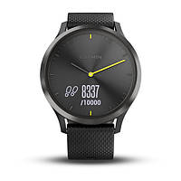 Умные часы Smart Watch Garmin Vivomove HR Black водонепроницаемые, пульсометр, шагомер, контроль сна, фото 6