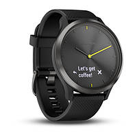 Умные часы Smart Watch Garmin Vivomove HR Black водонепроницаемые, пульсометр, шагомер, контроль сна, фото 7