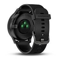 Умные часы Smart Watch Garmin Vivomove HR Black водонепроницаемые, пульсометр, шагомер, контроль сна, фото 8