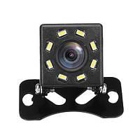 Камера заднего вида с подсветкой 8 LED