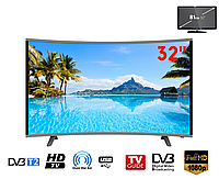 "Телевизор COMER 32"" Smart E32DU1000 Изогнутый"