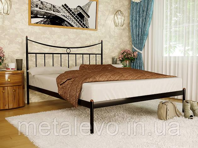 Кровать металлическая ПАРИЖ-1 (PARIS-1)  ТМ Метакам, фото 2