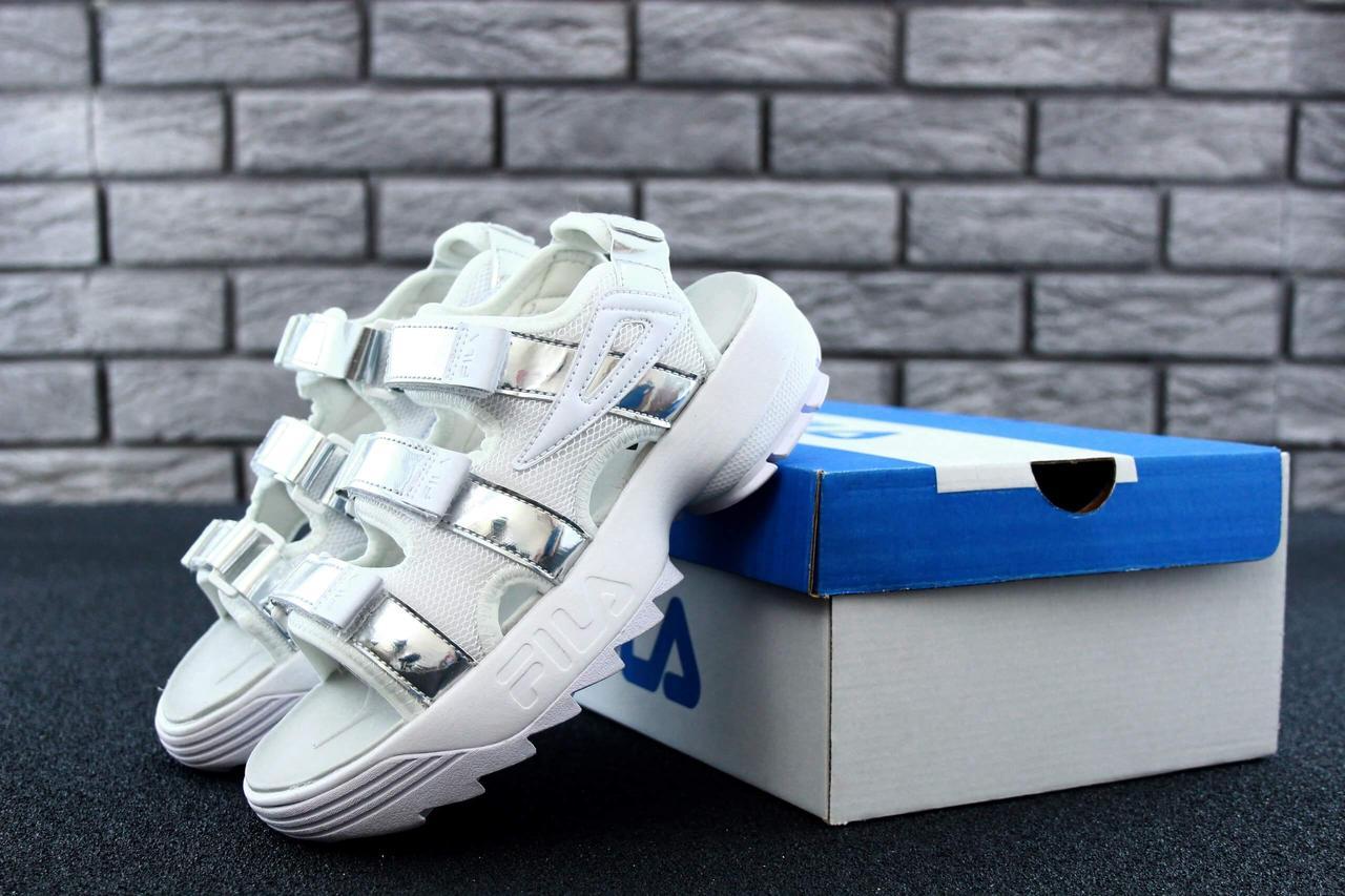 Женские сандалии Fila Sandals Silver