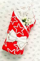Конверт - одеяло  вязаное №3