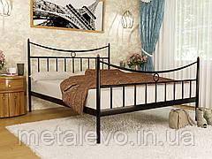 Металлическая кровать с изножьем ПАРИЖ-2 ТМ Метакам