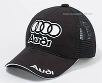 Бейсболка для мальчиков с автологотипом Audi черная