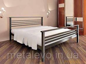 Металлическая кровать с изножьем ЛЕКС-2 (LEX-2) , фото 2