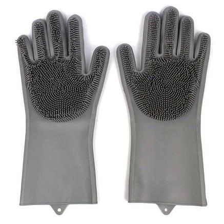 Силиконовые перчатки для мытья посуды Better Glove, фото 2