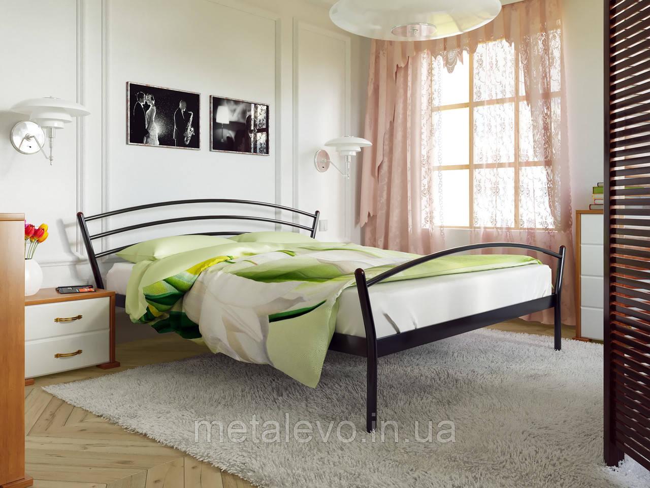 Металлическая кровать с изножьем МАРКО-2 (MARCO-2)