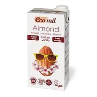 Молоко миндальное с ванилью без сахара, ТМ EcoMil