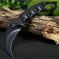 Военный нож коготь Керамбит с чехлом.