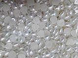 Полубусина перламутровая сердечко 10 мм, фото 2