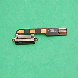 Шлейф для планшета Apple iPad 2 коннектора зарядки с компонентами Black