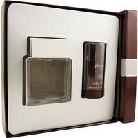 Набор парфюмерии мужская туалетная вода Calvin Klein euphoria 100 мл и дезодорант стик 100 мл