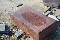 Бордюр из гранита красных оттенков ГП-1