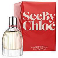 Женская парфюмированная вода Chloe See By 30 мл