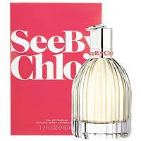 Женская парфюмированная вода Chloe See By 50 мл