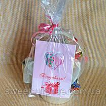 "Корзинка с букетом из конфет ""Комплимент"" (мини), фото 3"