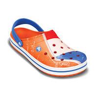Детские crocs оранжевые