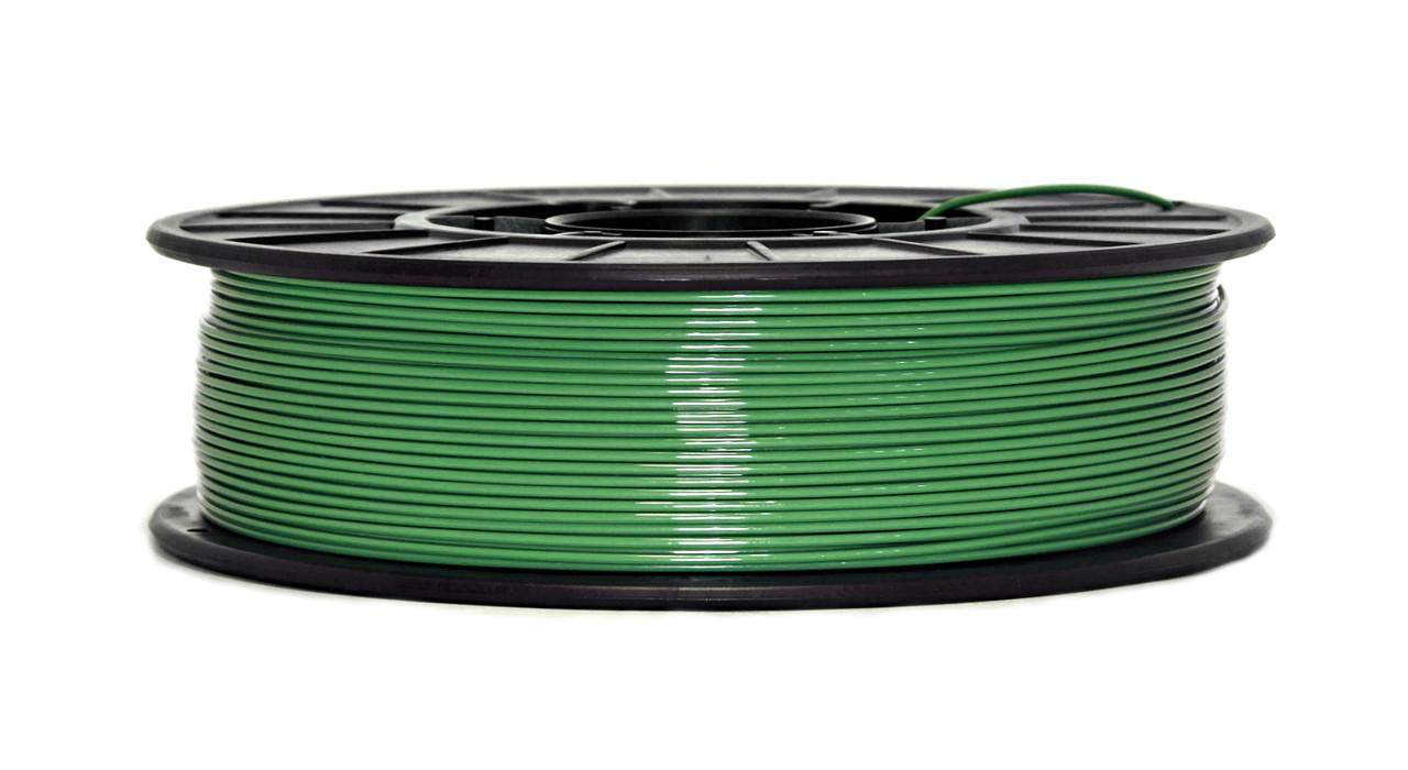 Нить PETG (CoPET, ПЕТГ) пластик для 3D печати, Зеленый (1.75 мм/0.75 кг)