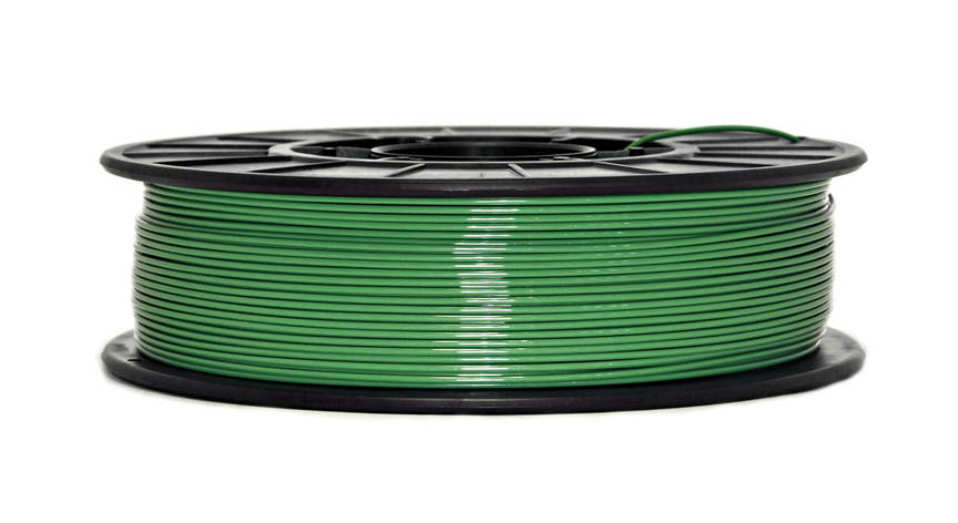 Нить PETG (CoPET, ПЕТГ) пластик для 3D печати, Зеленый (1.75 мм/0.75 кг), фото 2