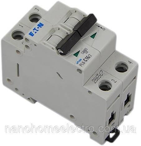 Автоматический выключатель Eaton-Moeller PL4-C 2P 16A