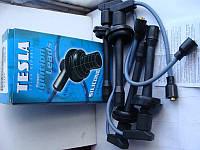 Провода высоковольтные Газель Соболь Волга ЗМЗ 405,406 пр-во Tesla Чехия (силиконовые!) синяя упаковка  T712S