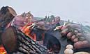 Круглый гриль мангал AHOS PRO Black, фото 2
