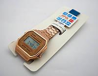 Полностью металлические часы в стиле CASIO A168, фото 1