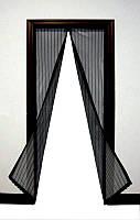 Антимоскитная шторка на магнитах Magic Mesh 100х210