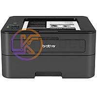 Принтер лазерный ч/б A4 Brother HL-L2365DWR, Black, WiFi, 600x2400 dpi, дуплекс, до 30 стр/мин, ЖК-монитор, USB / Lan (картридж TN-2335 / TN-2375)