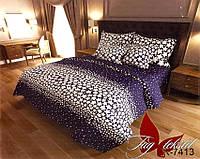 ✅ Полуторный комплект постельного белья (Ранфорс) TAG R7413