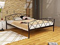 Кровать металлическая с изножьем ЖАСМИН ЭЛЕГАНТ-2 (JASMINE ELEGANCE-2)  ТМ Метакам