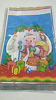 Пакет для новорічних подарунків і цукерок (20*35) №30 Порося (100 шт)