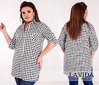 6838a737746 Женские рубашки больших размеров в Украине. Сравнить цены