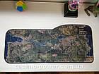 """Игровая поверхность с принтом """"Карта-спутник"""". Большой геймерский ковер 73*33 см для мышки, фото 8"""