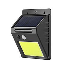 Светильник уличный «BC-20»10W 48 COB солнечная батарея + датчик движения/освещения