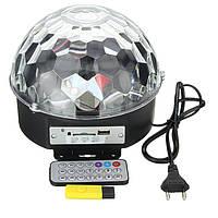 Светомузыка диско шар Magic Ball Music MP3 плеер с bluetooth Светодиодный диско-шар с динамиками, MP3 плеером , фото 1