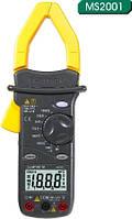 MS2001 Mastech Токоизмерительные клещи. Постоянное напряжение (DC)1000 В\ AC 750 В