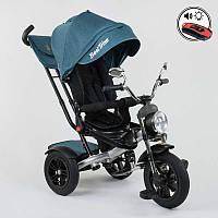 Трехколёсный велосипед Бест Трайк Best Trike 4490 - 2209 бирюза (разные цвета). Поворотное сиденье. Пульт.