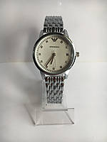 Женские наручные часы Emporio Armani (Эмпорио Армани), серебристо-белый цвет ( код: IBW204SO )