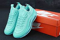 Кроссовки женские Nike Air Max 97 в стиле Найк Аир Макс 97, бирюзовые
