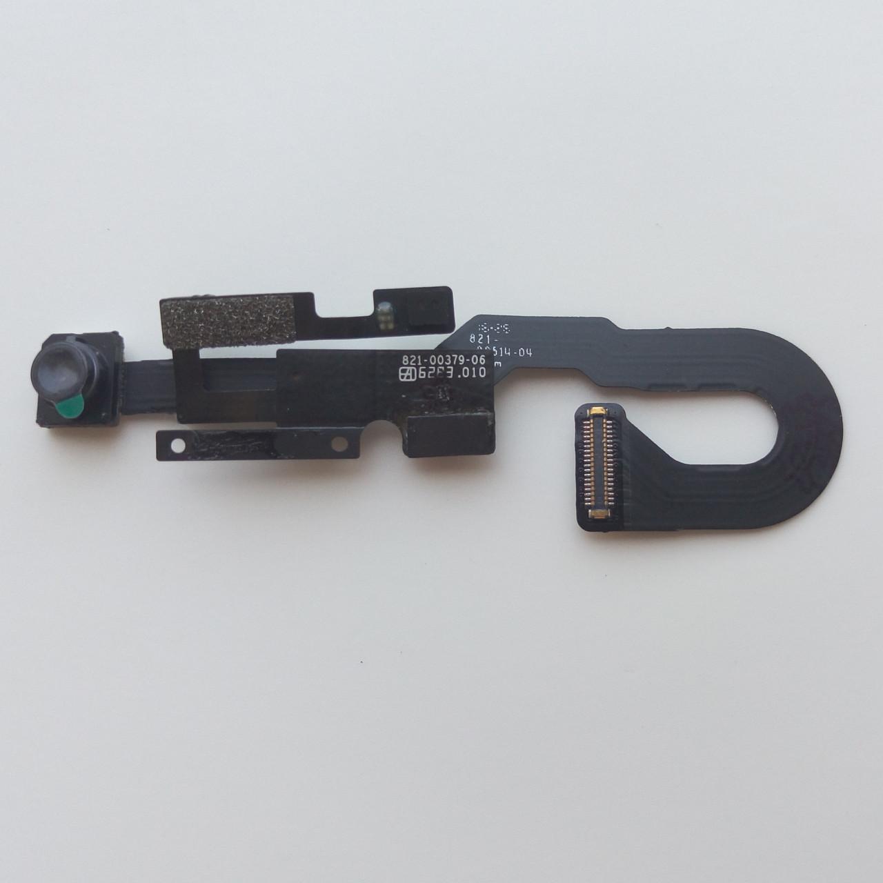 Шлейф Apple iPhone 7 подсветки дисплея, с камерой, с микрофоном